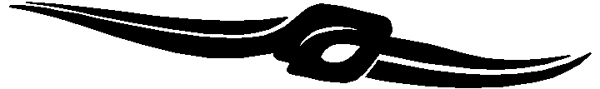 Pacing Panther stripe vinyl decal. 229