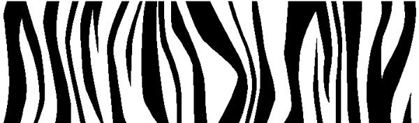 Bold stripes vinyl sticker. 3080
