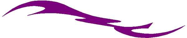 Racing Puma stripe vinyl sticker. 3109