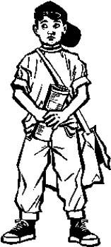 Newspaper Boy decal by SignSpecialist.com