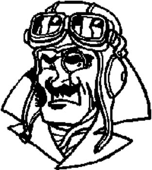 WWII Pilot decal by SignSpecialist.com