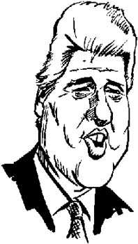 294   Bill Clinton vinyl decal customized online.