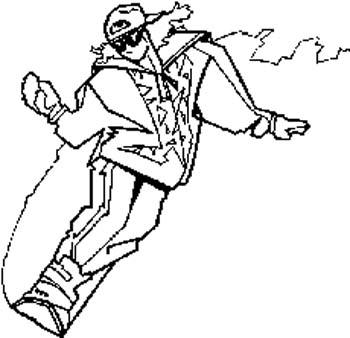 311   Snowboarder vinyl decal customized online.