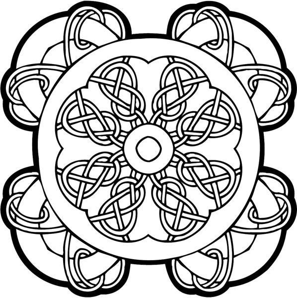 Celtic Emblem vinyl graphic sticker personalized on line. celtic-decal-co_0009w