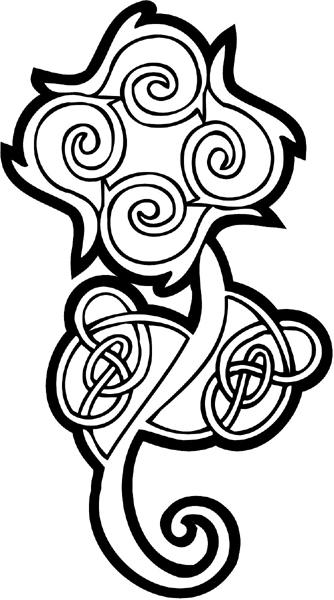 Celtic Emblem vinyl decal customized on line. celtic-decal-co_0048w