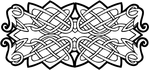 Signspecialist Com General Decals Celtic Intertwined