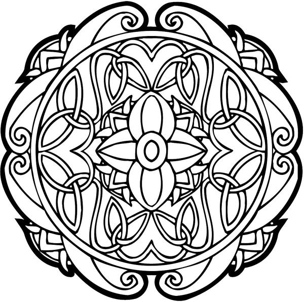 Celtic Emblem graphic vinyl decal. Customize on line. celtic-decal-co_0077w