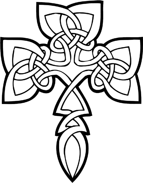 free celtic symbols coloring pages | SignSpecialist.com – General Decals - Beautiful Celtic ...