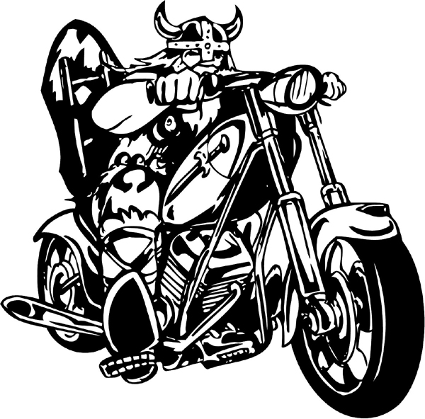 Signspecialist Com General Decals Thunder Cycle And