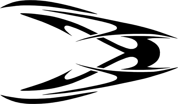 Centerpiece Auto Hood Graphic - (also ideal for your windshield or backglass) Customized Online00B771