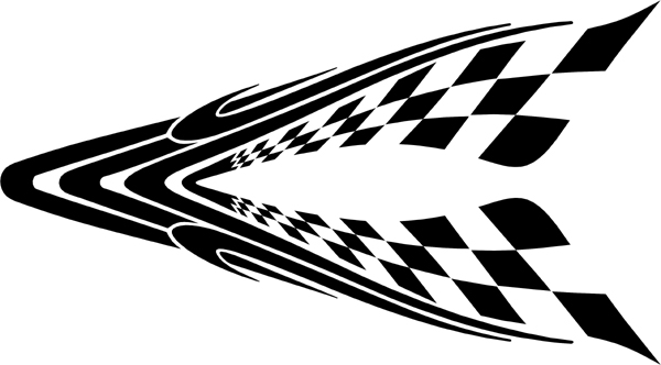 Centerpiece Auto Hood Graphic - (also ideal for your windshield or backglass) Customized Online00B787