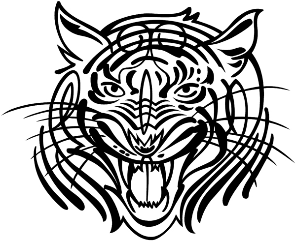 Centerpiece Auto Hood Graphic - (also ideal for your windshield or backglass) Customized OnlineBENGAL
