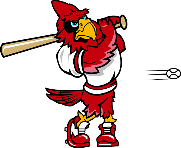 Cardinal Baseball team mascot sports decal. Own it today!