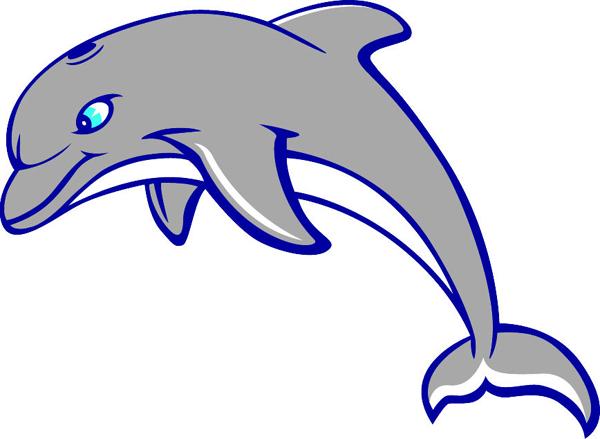 Signspecialist Com Mascots Decals Dolphin Team Mascot