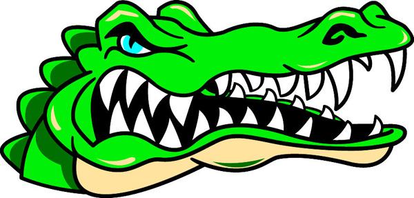 Signspecialist Com Mascots Decals Gator S Head Team