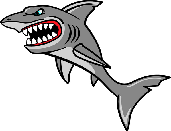 sharks sports team coloring pages - photo#9