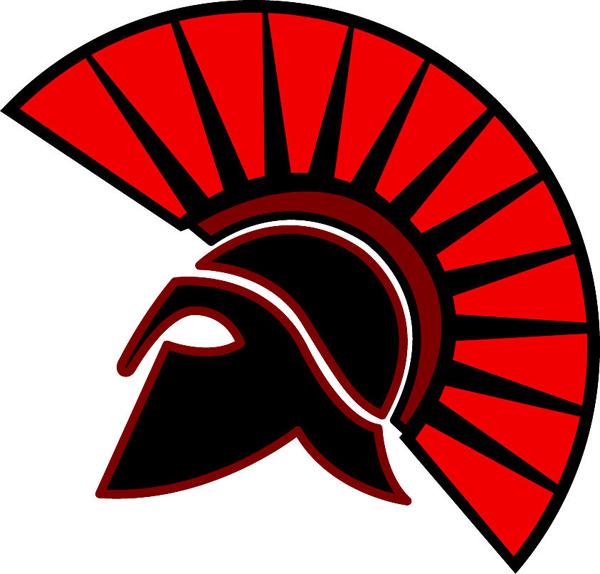 Signspecialist Com Mascots Decals Spartan Mascot