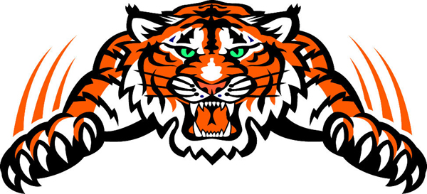 signspecialist com mascots decals tiger mascot vinyl sports decal make it yours Wildcat Mascot Clip Art Black and White Wildcat Mascot Clip Art Black and White