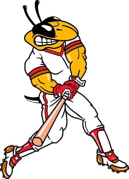 Signspecialist Com Mascots Decals Yellow Jacket Baseball Mascot