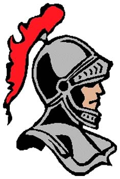 Design Your Own Decal - Knight mascot full color sports ...
