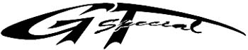 'GT special' lettering vinyl sticker. Customize on line. 0012_4  GT_Special