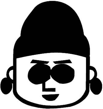 South Park kid vinyl sticker. Customize on line.  0300_sp
