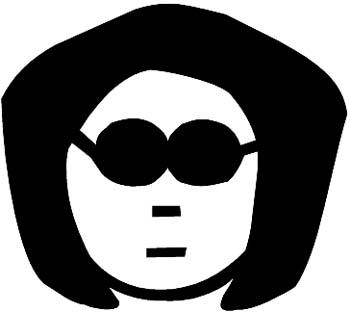 South Park girl vinyl sticker, customize on line.  0322_sp-south park