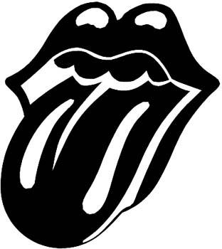 Rolling stone lips vinyl decal customized online. Rollston