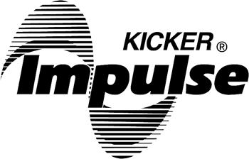Kicker Impulse Logo decal Customized Online. 0027