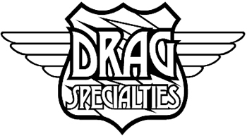Drag Specialties Logo decal Customized Online. 0161