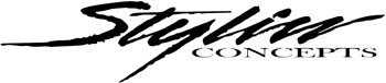 'Stylin Concepts' lettering Decal Customized Online. 1159