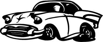 Design Your Own Decal – Popular Decals - 57 Chevy cartoon ...