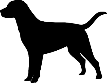 Design Your Own Decal  Popular Decals Hunting Dog Silhouette - Sporting dog decals