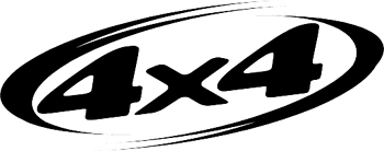 4x4  Decal Customized Online. 3101