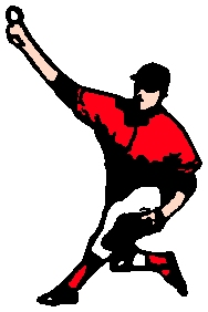 Baseball action sports sticker. Personalize on line. 1A11 - baseball decal