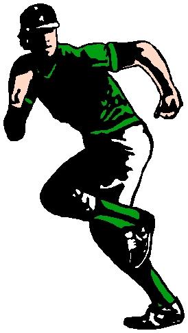 Baseball player sports decal. Customize as you order. 1A13 - baseball sticker
