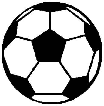 Soccer ball sports sticker. Customize on line. 1D4 - soccer ball decal