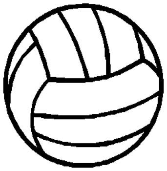 Volleyball  sports sticker. Customize as you order. 1E2- volley ball decal