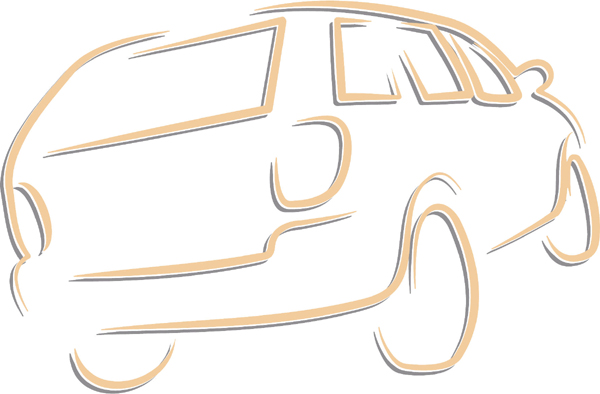 SUV color sports decal. Personalize as you order. AUTO_BOAT_2C_01