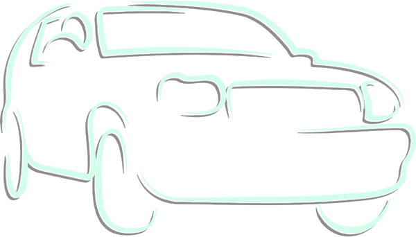 SUV color sports decal. Customize on line. AUTO_BOAT_2C_02