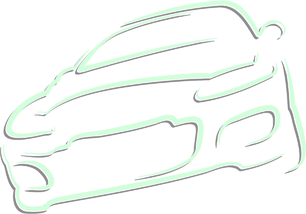 Car color sports decal. Customize on line. AUTO_BOAT_2C_03