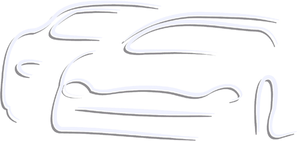 Two cars color sports decal. Personalize on line. AUTO_BOAT_2C_09