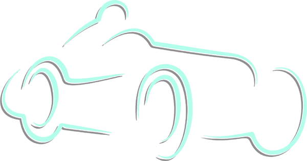 Race car color sports sticker. Customize on line. AUTO_BOAT_2C_17