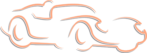 Sports car color sports sticker. Own it! AUTO_BOAT_2C_24