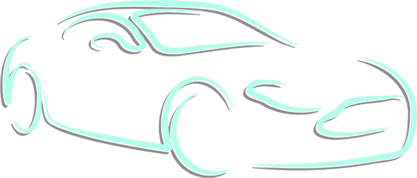 Sports coupe color sports sticker. Customize on line. AUTO_BOAT_2C_31
