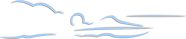 Speedboat color action sports decal. Personalize on line. AUTO_BOAT_2C_34