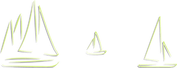 Sailboats color sports decal. Personalize on line. AUTO_BOAT_2C_55