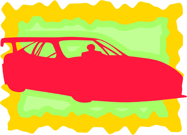 Car color sports decal. Personalize as you order. AUTO_BOAT_3C_03