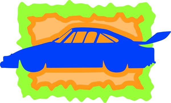 Classy car full color sports sticker. Make it personal! AUTO_BOAT_3C_11