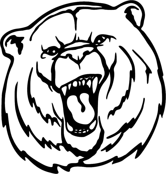 Jeremiah 1 5 activity sheet related keywords jeremiah 1 for Bear head coloring page